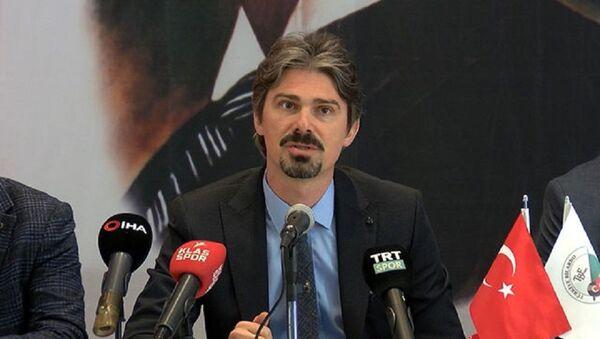 Türkiye Bilardo Federasyonu Başkanı Ersan Ercan - Sputnik Türkiye