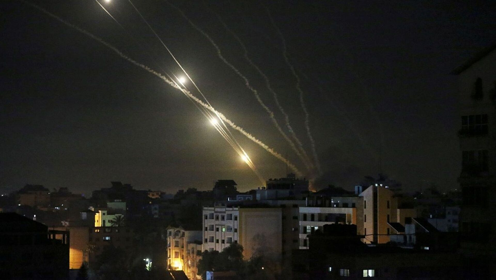 Hamas - Tel Aviv - İsrail - roket saldırısı - Sputnik Türkiye, 1920, 28.05.2021