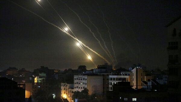 Hamas - Tel Aviv - İsrail - roket saldırısı - Sputnik Türkiye