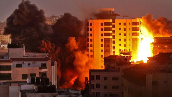 İsrail - Gazze - Hava saldırısı - Sputnik Türkiye
