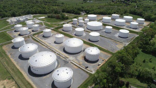 ABD'nin en büyük petrol boru hatlarından Colonial Pipeline - Sputnik Türkiye