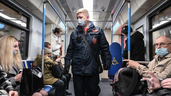 Rusya-koronavirüs-maske - Sputnik Türkiye