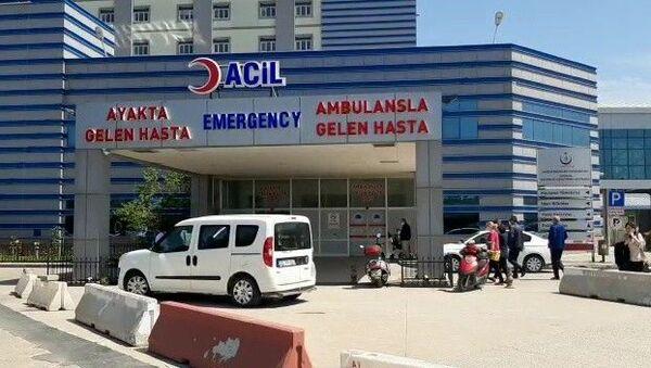 İlkadım ilçesinde bulunan Eğitim ve Araştırma Hastanesi-Samsun - Sputnik Türkiye