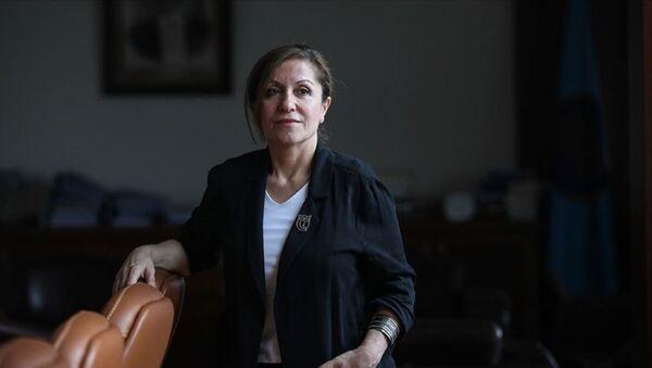 Mimar Sinan Güzel Sanatlar Üniversitesi (MSGSÜ) Rektörü Prof. Dr. Handan İnci - Sputnik Türkiye