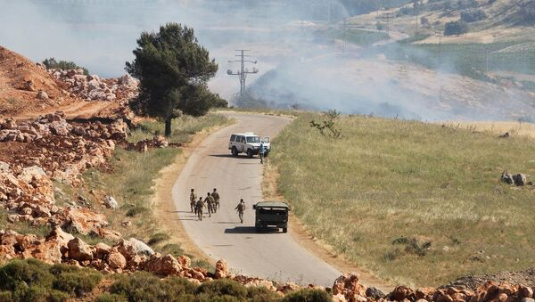 İsrail - Lübnan sınırı - Sputnik Türkiye
