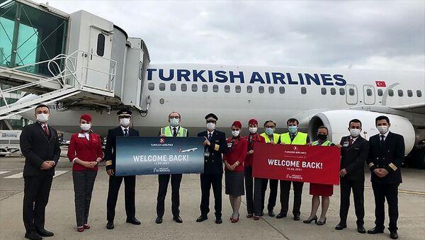 THY'nin İstanbul-Strazburg seferleri başladı - Sputnik Türkiye