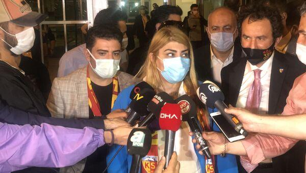 Hes Kablo Kayserispor Başkanı Berna Gözbaşı - Sputnik Türkiye