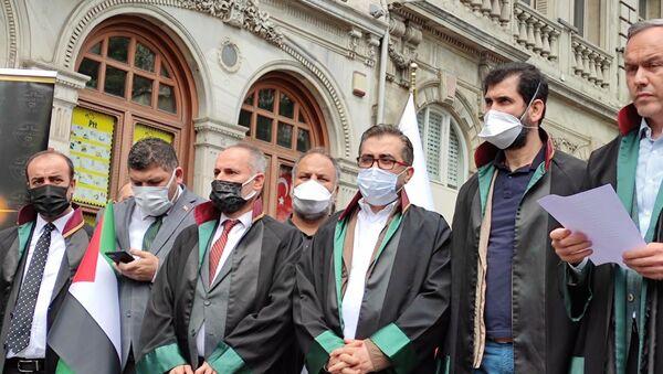 Hukukçulardan İsrail protestosu - Sputnik Türkiye