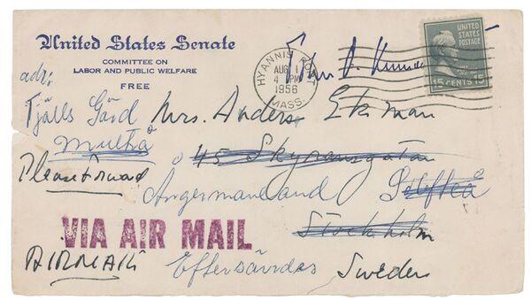 ABD'nin eski başkanı Kennedy'nin kız arkadaşına yazdığı mektuplar - Sputnik Türkiye
