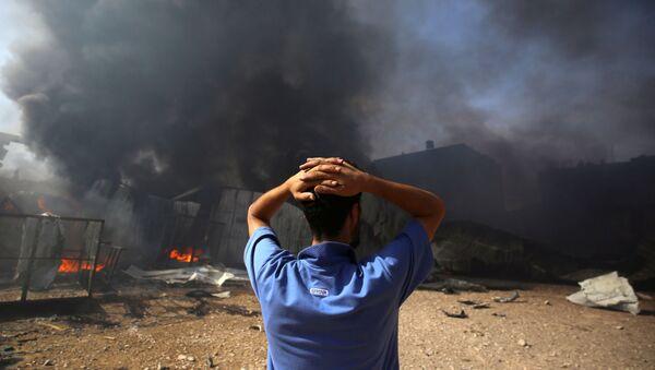 İsrail'in Filistin'e saldırıları - Sputnik Türkiye