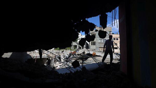 İsrail ordusunun Gazze'ye düzenlediği saldırılar - Sputnik Türkiye
