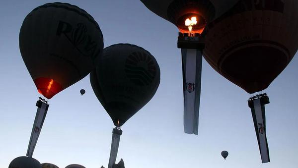 Kapadokya-Beşiktaş-Balon - Sputnik Türkiye