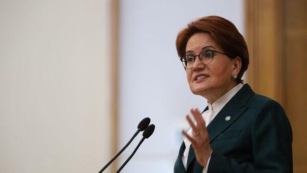 İYİ Parti lideri Meral Akşener - Sputnik Türkiye