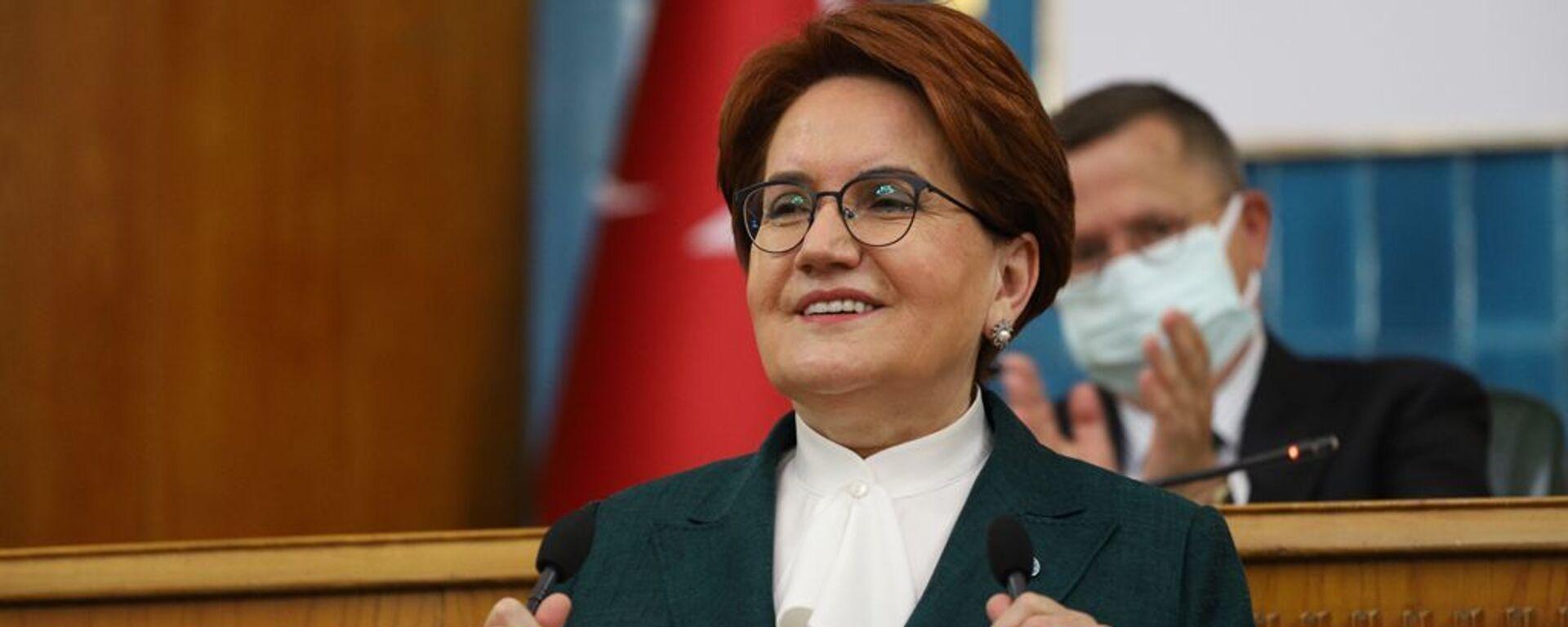 İYİ Parti lideri Meral Akşener - Sputnik Türkiye, 1920, 26.05.2021