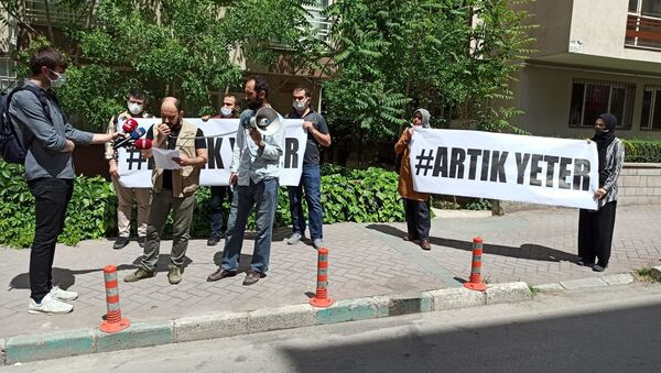 Ankara'da esnaf protestosu - Sputnik Türkiye