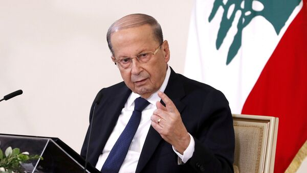 Lübnan Cumhurbaşkanı Mişel Aun - Sputnik Türkiye