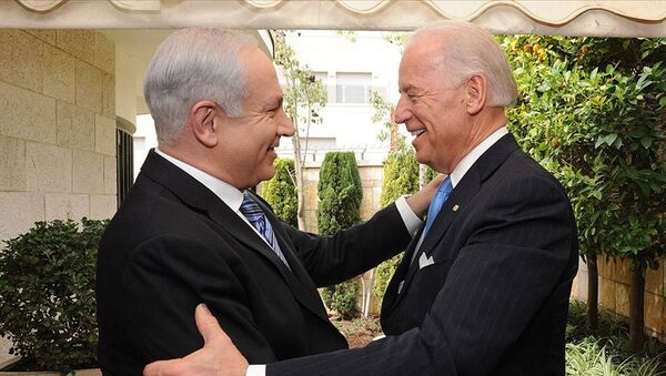 Biden - Netanyahu - Sputnik Türkiye