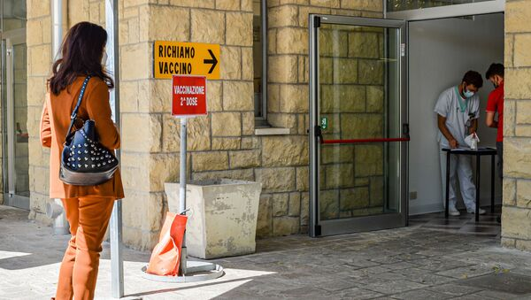 San Marino'da Sputnik V aşısını ilk yaptıran Letonyalı turistler oldu - Sputnik Türkiye