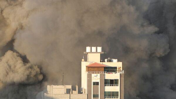 Gazze - İsrail - hava saldırısı - Sputnik Türkiye