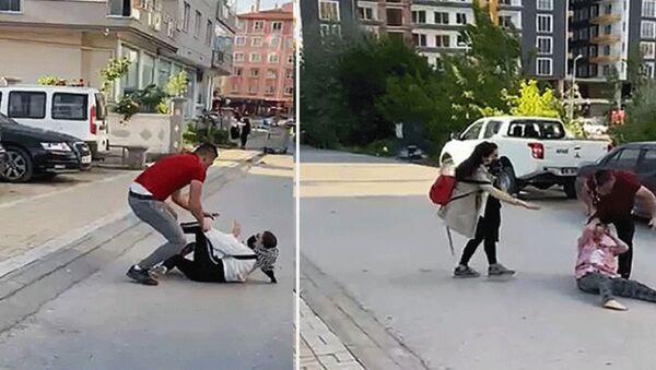 Çankırı'da boşanan çiftin yakınları arasında mal bölüşme kavgası - Sputnik Türkiye