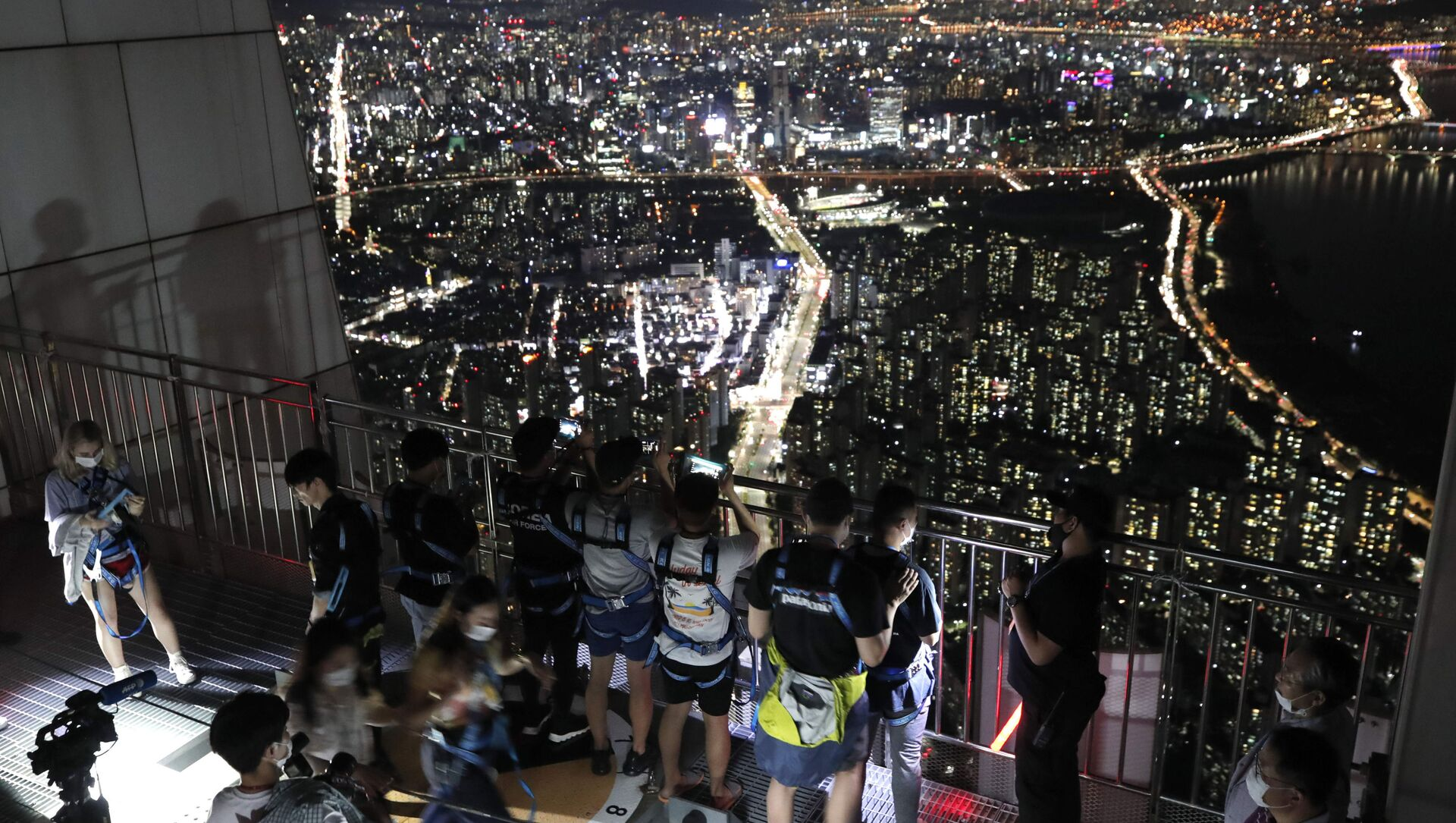 Güney Kore- Seul- Gece hayatı - Sputnik Türkiye, 1920, 19.05.2021