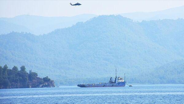Bir ton uyuşturucunun ele geçirildiği Commander Tide gemisi satışa çıkarıldı - Sputnik Türkiye