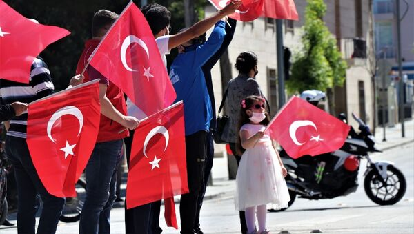 19 Mayıs kutlamaları - Sputnik Türkiye
