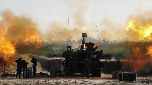 İsrail'in Gazze'ye düzenlediği saldırılar - Sputnik Türkiye