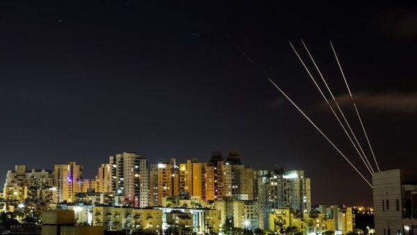 Gazze - roket saldırısı - Sputnik Türkiye