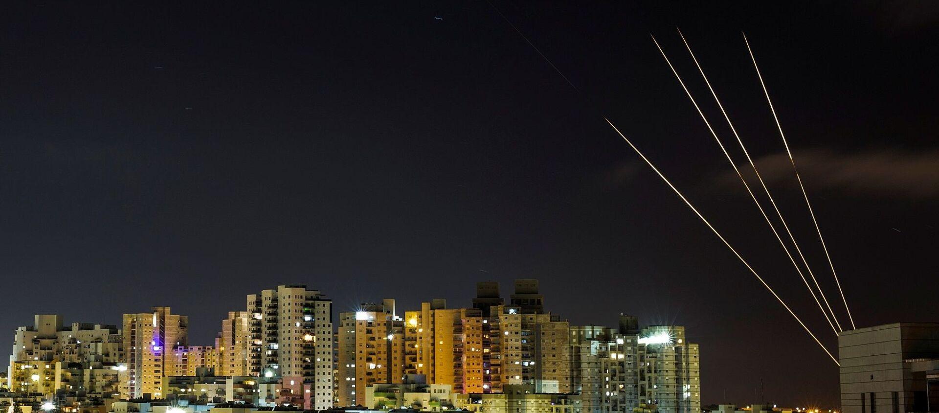 Gazze - roket saldırısı - Sputnik Türkiye, 1920, 24.05.2021