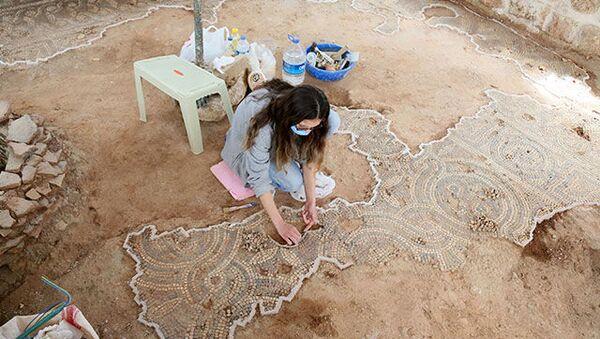 Roma dönemine ait mozaik / Antalya - Sputnik Türkiye