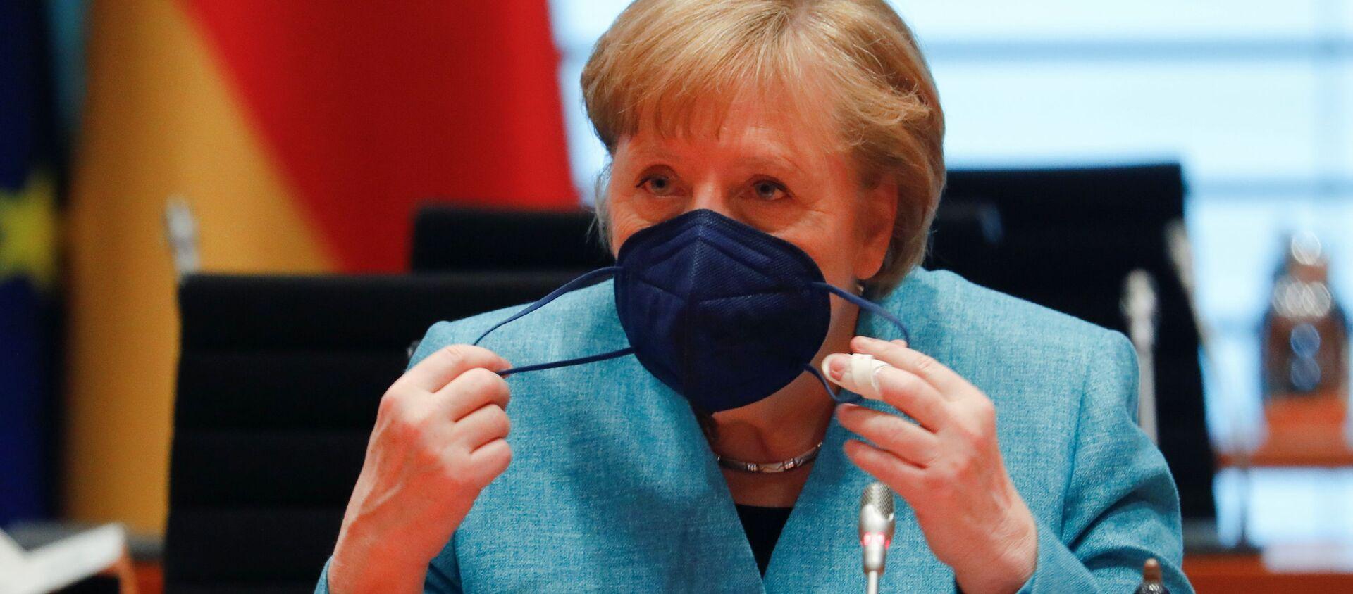 Angela Merkel - Sputnik Türkiye, 1920, 12.06.2021