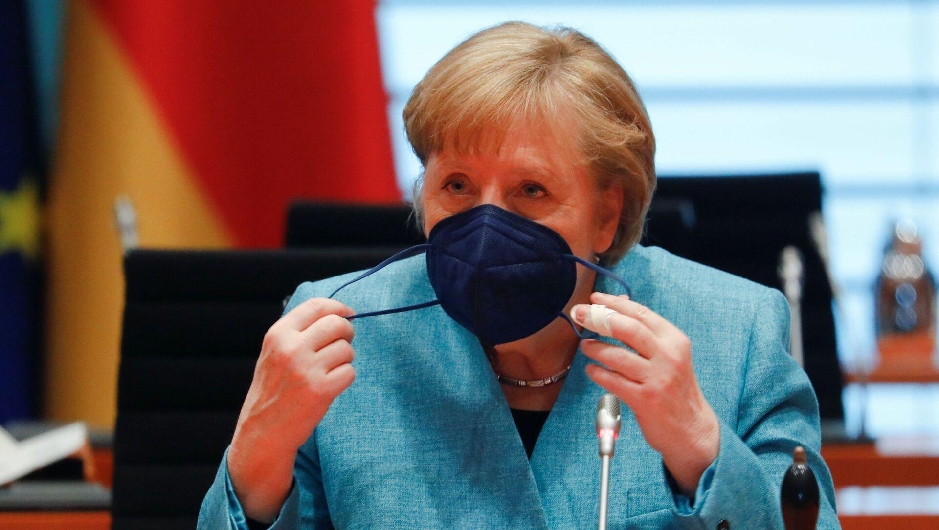 Angela Merkel - Sputnik Türkiye, 1920, 10.06.2021