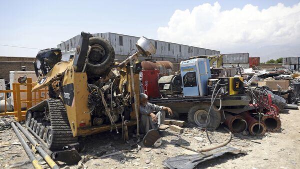 Amerikalılar, Afganistan'da kalan en büyük üslerinden Bagram Hava Üssü'nün bir kısmını boşaltmaya başladı. - Sputnik Türkiye