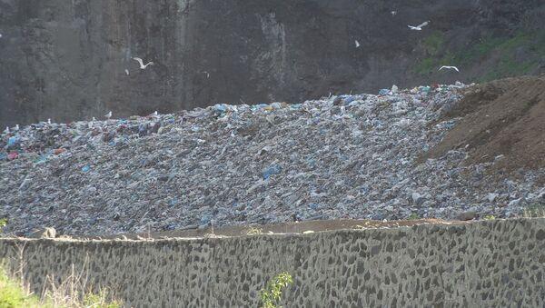 Giresun'da sızıntı tespit edilen çöp tesisi - Sputnik Türkiye
