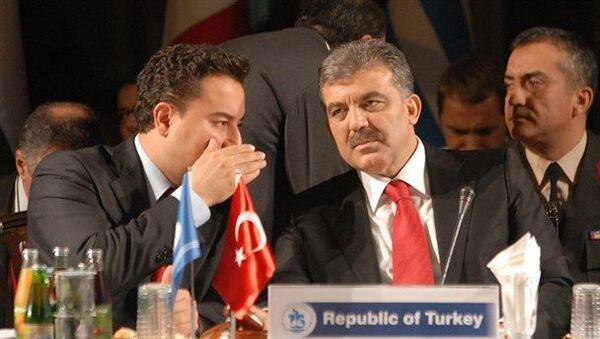 Deva Partisi Genel Başkanı Ali Babacan, Abdullah Gül - Sputnik Türkiye