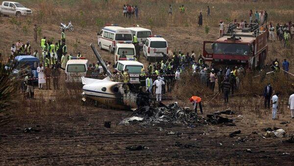 Nijerya Genelkurmay Başkanı uçak kazasında öldü - Sputnik Türkiye