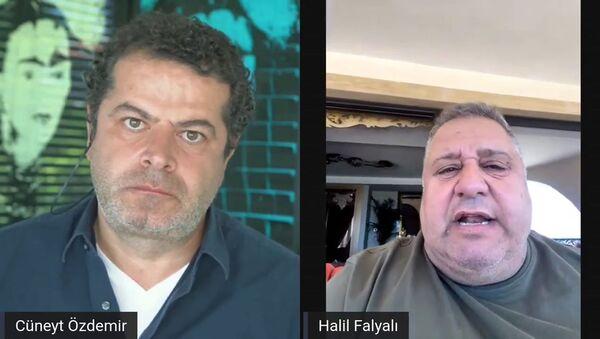 Halil Falyalı- Cüneyt Özdemir - Sputnik Türkiye
