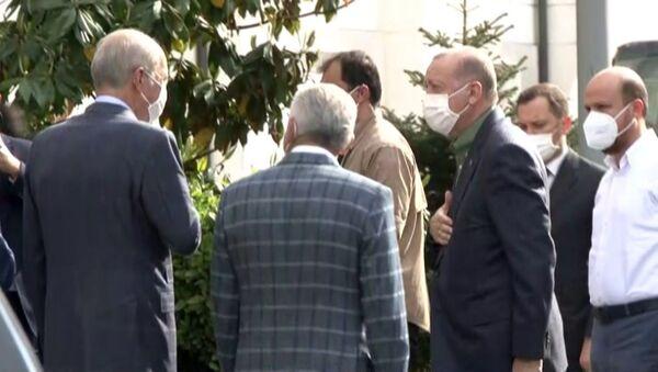 Cumhurbaşkanı Erdoğan, İstanbul'da  - Sputnik Türkiye