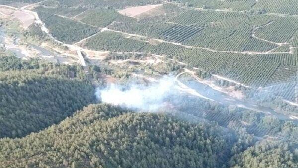 Muğla orman yangını - Sputnik Türkiye
