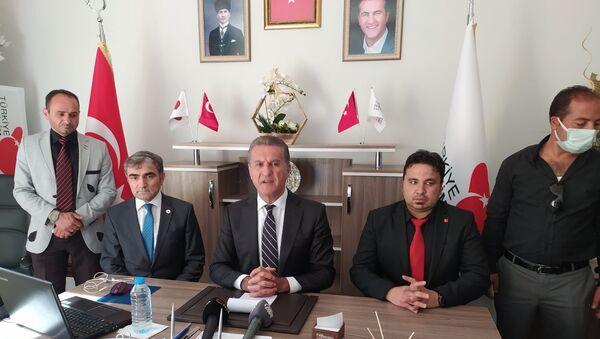 Türkiye Değişim Partisi Genel Başkanı Mustafa Sarıgül - Sputnik Türkiye
