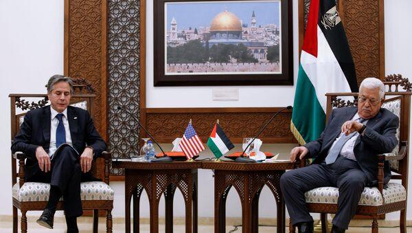 ABD Dışişleri Bakanı Blinken: ABD'nin Filistin ile ilişkilerine bakan Kudüs'teki konsolosluğunu yeniden açacağız - Sputnik Türkiye