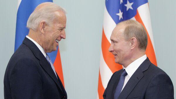 Vladimir Putin-Joe Biden - Sputnik Türkiye