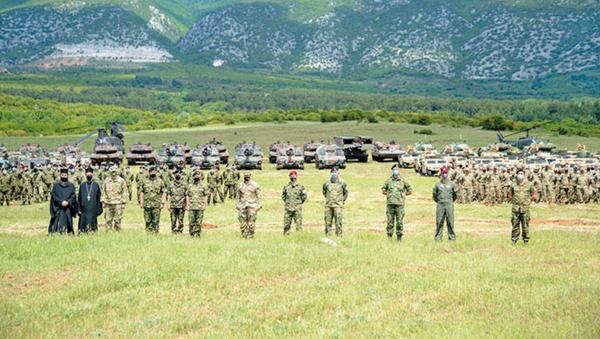 Yunan ve ABD ordusu İskeçe'de gerçek mermiyle eğitim yaptı - Sputnik Türkiye
