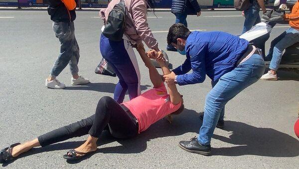 Boşanma aşamasındaki eşi tarafından silahla vurulan kadın - Sputnik Türkiye