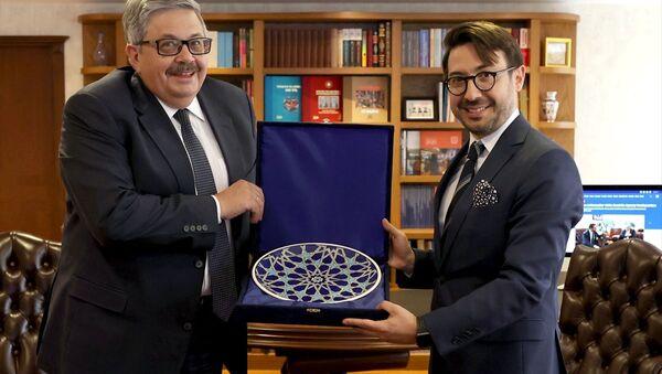 Rusya'nın Ankara Büyükelçisi Yerhov, AA'yı ziyaret etti - Sputnik Türkiye