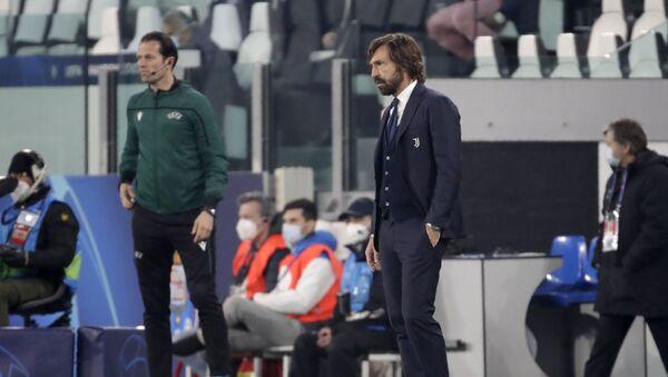 Juventus'ta Andrea Pirlo dönemi sona erdi - Sputnik Türkiye