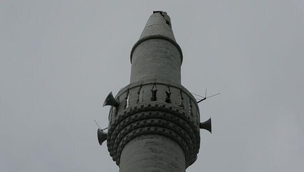 Minare - yıldırım  - Sputnik Türkiye