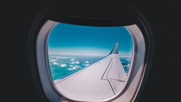 Uçak - uçak penceresi - Sputnik Türkiye