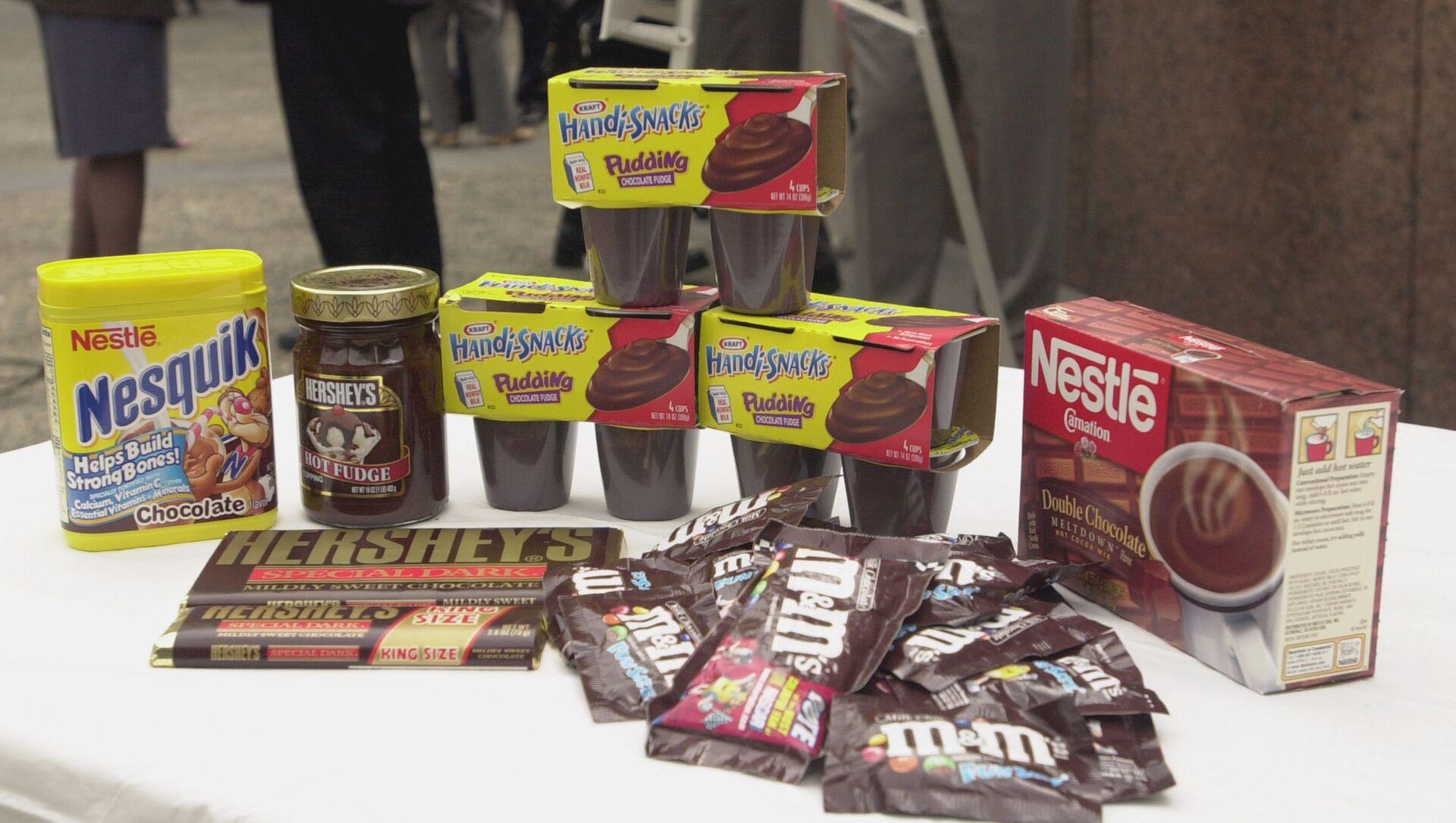 Nestle'nin şirket içi yazışmaları sızdı: 'Ürünlerimizin yüzde 60'ı sağlıksız' - Sputnik Türkiye, 1920, 31.05.2021